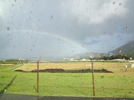 A rainbow in St. Thomas